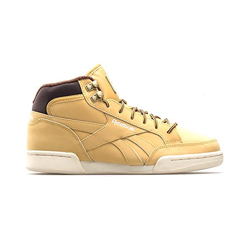 Reebok Royal Complete Pmw - Zapatillas de deporte Hombre Dorado (Golden Wheat / Dark Brown / Paper White)