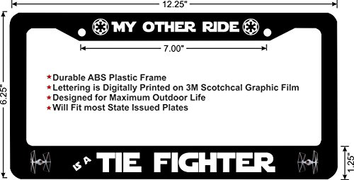 star wars imperial license plate - 9