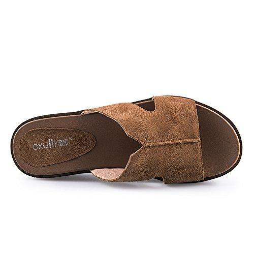 Cool Plataforma A señoras Zapatos sandalias Arrastrar De Verano n7qCFx