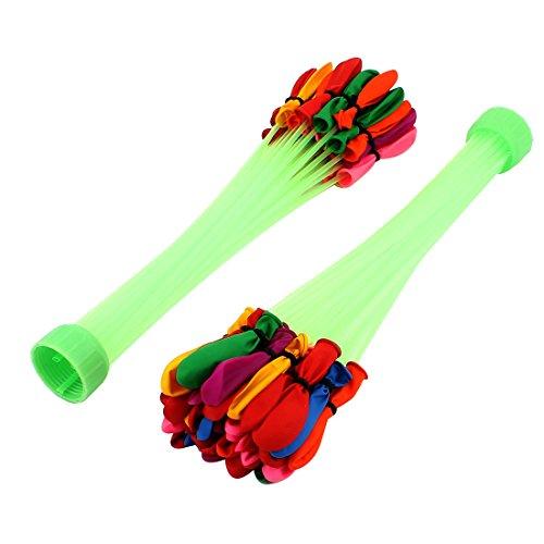 2 Stück Dekoration Wasserbomben buntes Bündel Spielzeug