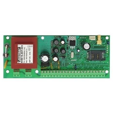 PC GSM 612 - Panel de control de alarma (6-12 zonas, módulo ...