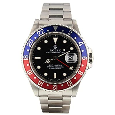 Rolex GMT Master Automatic-self-Wind Male Watch 16700 (Certified Pre-Owned) by Rolex