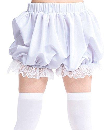antaina White Lace Victorian Ruffles Cotton Lolita Pumpkin