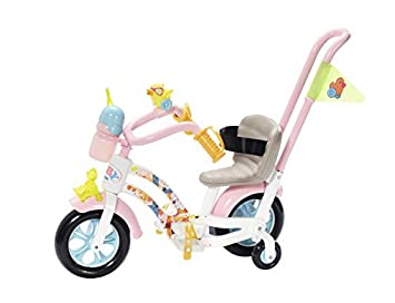 Amazon.es: Zapf Baby Born Play&Fun Bike Juego de Bicicleta para ...