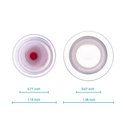 Nipple Correctors Orthotics Silicone Gel Nipple Sucker with Rubber Pump for Inverted and Flat Nipple by MeiDland (Image #6)