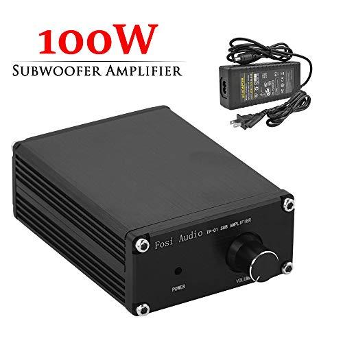 Subwoofer Amplifier Receiver 100Watt Mini Hi-Fi Digital Class D Integrated