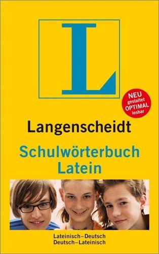 Langenscheidt Schulwörterbuch Latein - Buch mit App: Lateinisch-Deutsch/Deutsch-Lateinisch (Langenscheidt Schulwörterbücher)