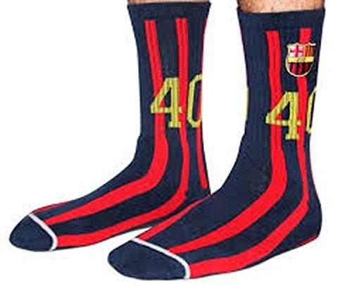 40s y Shorties Barca calcetines,  Azul/Rojo