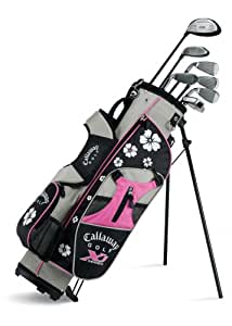 Callaway XJ Junior 11-Piece Girl's Golf Club Set (9-12 Years Old, Right Hand)