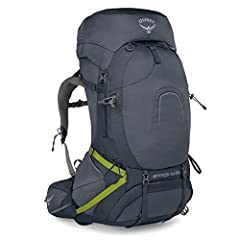 The Atmos AG 65 is the best-fitting, most ventilated and comfortable pack ever made for traditional backpacking trips up to a week or more in duration. The innovative AntiGravity suspension makes it feel like you're carrying less weight and s...