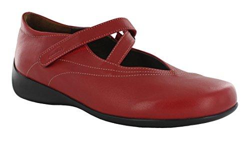 Wolky Kvinner 350 Lidenskap Sandaler Skinn Røde