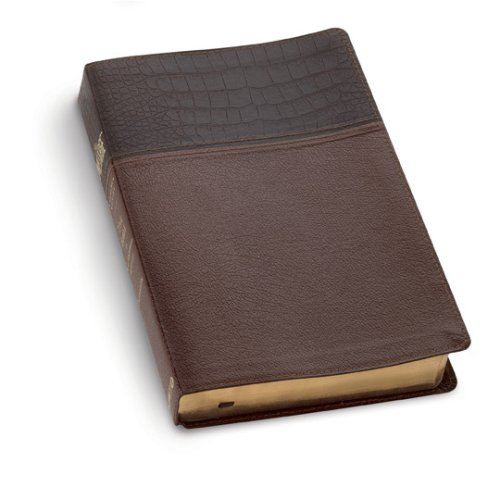The Message Brown/Alligator Tan Bonded Lthr: The Bible in Contemporary Language