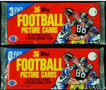 2 1982 unopen grocery rack packs