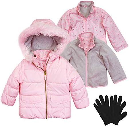 Osh Kosh B/'gosh Toddler Girls Purple Mid Length Outerwear Coat Size 2T $60