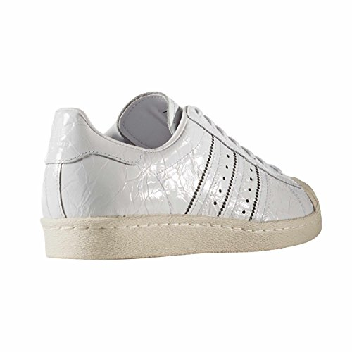 Adidas Superstar 80s Zapatillas charol arrugado para Hombre,BB2056 Sneakers Zake Blanco Blanco