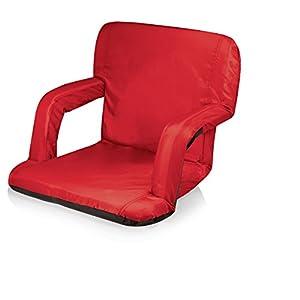 Picnic Time Portable 'Ventura' Reclining Stadium Seat, Red