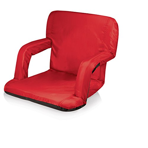 Picnic Time Portable 'Ventura' Reclining Stadium Seat, Red