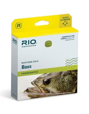 RIO Fly Fishing Fly Line Mainstream Bass/Pike/Pinfish Wf8F Fishing Line, Yellow