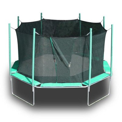16' Octagon Magic Circle Trampoline Pad Color: Green/Purple