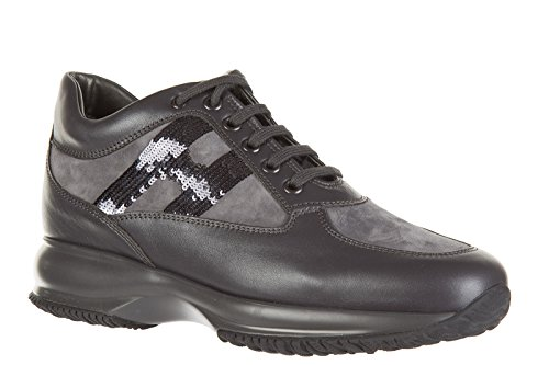 Hogan Zapatos Zapatillas de Deporte Mujer EN Piel Nuevo Interactive Micro Paille