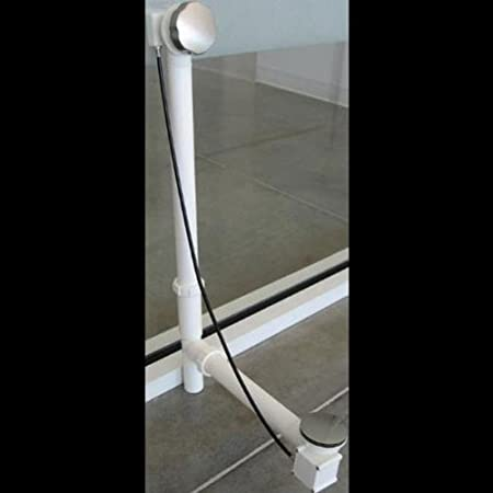 TOTO ABD100 PN Bath Drain White Tubular Polished Nickel