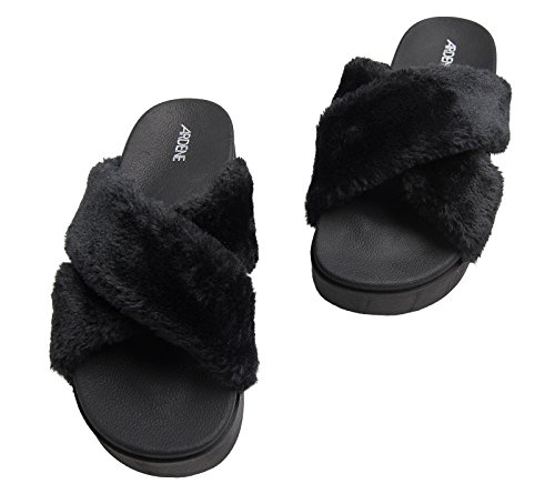 433315b3d Ardene - Women s - Platform Fur Slides