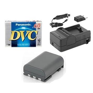amazon com canon zr500 camcorder accessory kit includes dvtape rh amazon com ZR500 Copco Users Manual Canon ZR500