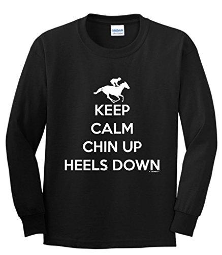 Heels Horseback Riding Sleeve T Shirt
