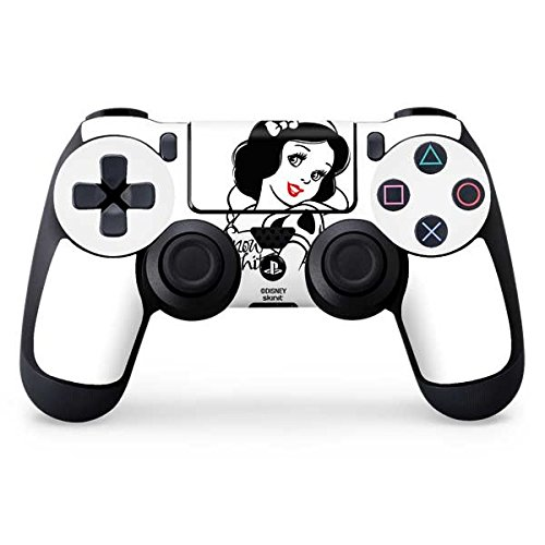 Snow White & the Seven Dwarfs PS4 Controller Skin - Snow White Black and White | Disney & Skinit Skin