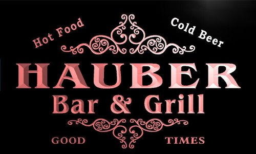 u19180-r HAUBER Family Name Gift Bar