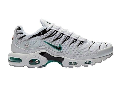Nike Heren Air Max Plus Synthetische Loopschoenen Wit / Zwart / Stoffige Cactus