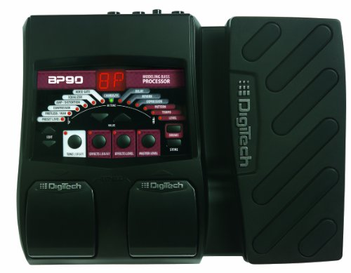 - DigiTech BP90 Bass Guitar Multi-Effects Processor