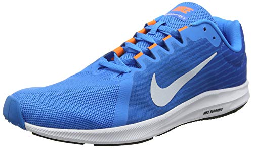 Nike Downshifter 8, Scarpe da Fitness Uomo Multicolore (Blue Hero/Football Grey/Cobalt Blaze 403)
