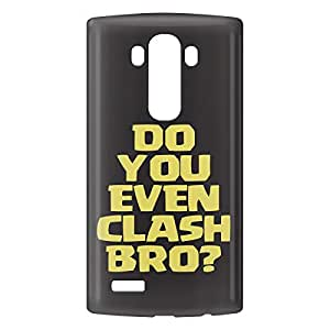 Loud Universe LG G4 Clash of Clans Do You Even Clash Bro? Print 3D Wrap Around Case - Black