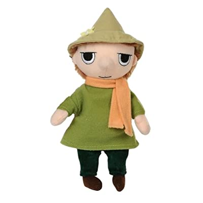 The Moomins Plush Soft Toy - 6.5 Inch Snufkin with Green Hat: Toys & Games