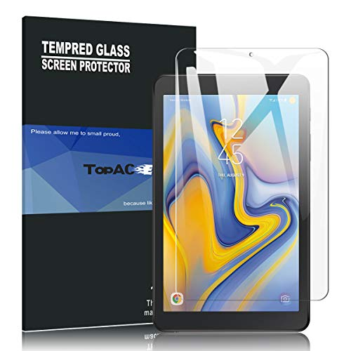 TopACE for Samsung Galaxy Tab A 8.0 2018 Screen Protector, 9H Hardness [Anti-Scratch][Bubble Free] Tempered Glass Compatible for Samsung Galaxy Tab A 8.0 T387 2018 Release (1 Pack)