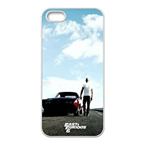 iPhone 5 5s Cell Phone Case White Fast And Furious 6 LV7006634