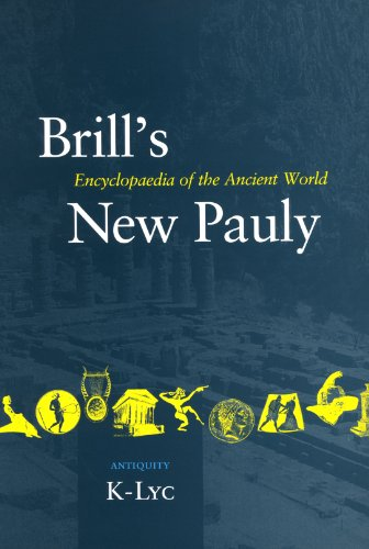 Brill's New Pauly 7 Antiquity (Brill's New Pauly)