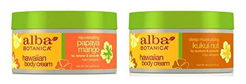 Mango + Kukui Nut Body Cream 6.5 oz (Alba Papaya)