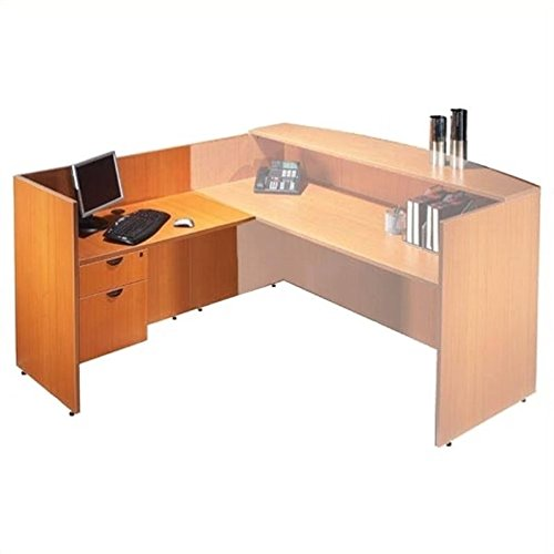 Offices to Go 42'' Reception Return - American Mahogany