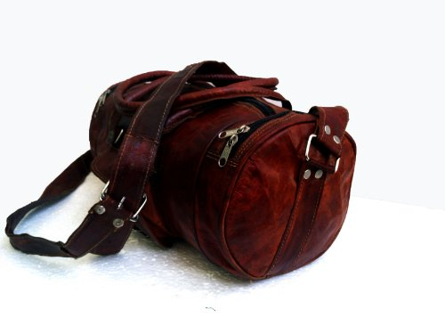 16 Quot Inch Men S Pure Leather Light Weight Small Weekender