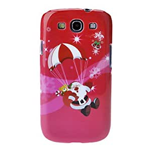 Landing Santa Claus Back Case for Samsung Galaxy S3 I9300