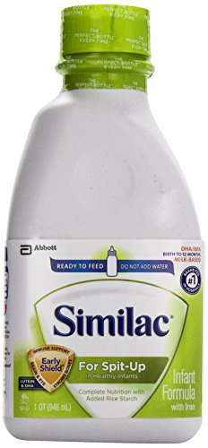 Similac Sensitive for Spit-Up Formula, Ready to Feed, 1-Q...