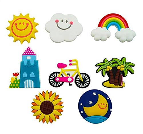 VLOOK Fridge Magnets for Toddlers Magnetic Cute Magnets Toys Baby Kids Refrigerator Magnets Whiteboard