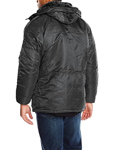 Black Industries Parka Alpha Coat Men's N 3B Gray PBpZqap