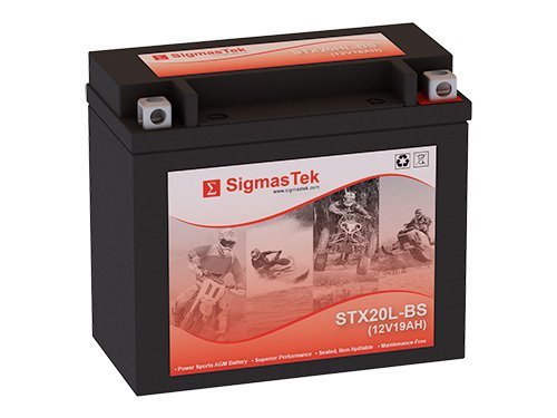 Yamaha RS Venture, 2012 Snowmobile Replacement Battery by SigmasTek (Venture Mobile)