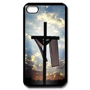 iPhone 4 4s Black Phone Case Cross Rational Cost-effective Surprise Gift Unique WIDR8611002014