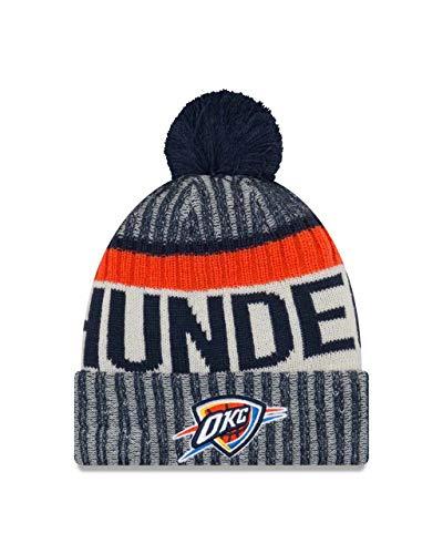 Oklahoma City Thunder Adult NBA NE17 Sport Knit Beanie - Team Color, One Size (Oklahoma City Thunder Knit Hat)
