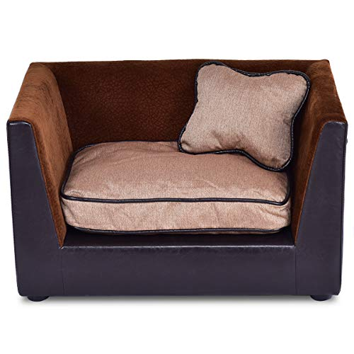 Giantex Pet Sofa Soft Warm Lounge Sofa Bed