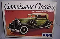 MPC Connoisseur Classics 1932 Chrysler LeBaron Imperial 1:25 Kit Vintage 1970's by Mpc